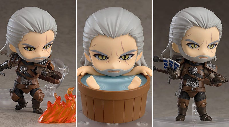 Illustration for article titled Oh Man Look At This Witcher 3 Figure