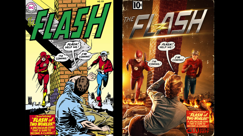 Illustration for article titled The Flash Gives Us an Amazing First Look at Jay Garrick, the Golden Age Flash!