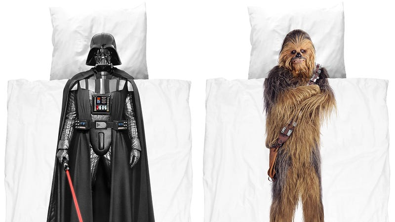 Illustration for article titled Inspire Star Wars Dreams With Vader and Chewbacca Bedding