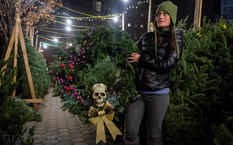 photo essay nyc s incredible christmas tree seller subculture