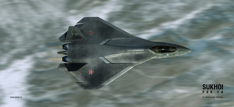 Illustration for article titled The New Russian Stealth Superfighter