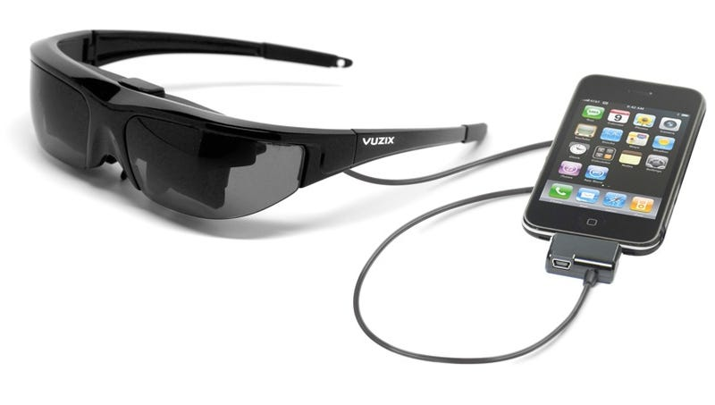 Illustration for article titled Vuzix Wrap 310 Video Sunglasses Look Less Dorky Than Ever