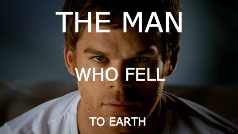 Illustration for article titled Michael C. Hall to star in David Bowie's Man Who Fell To Earth musical