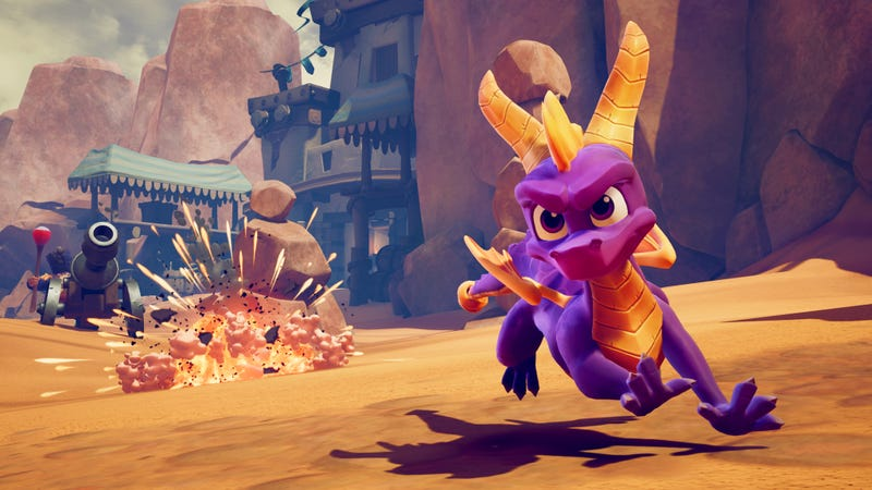 Illustration for article titled The Spyro Reignited Trilogy Preserves The Excellence Of A PlayStation Masterpiece