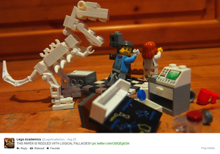 Illustration for article titled Lego Academics Twitter Account Illustrate Life in Academia
