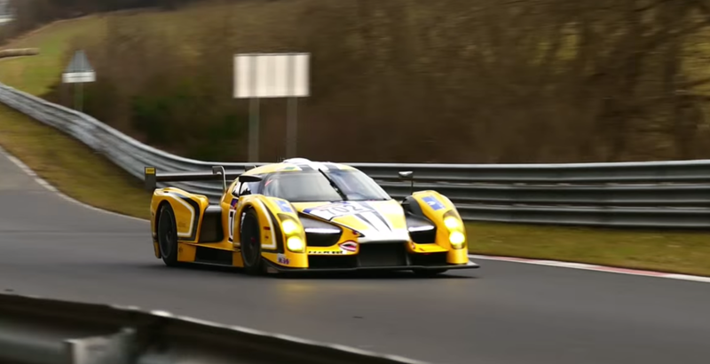 Illustration for article titled Want to see the Glickenhaus SCG 003 racing?