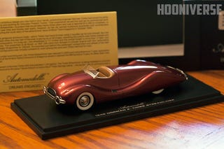 Illustration for article titled Norman Timbs Streamliner from Automodello is a 1:43 Scale beauty