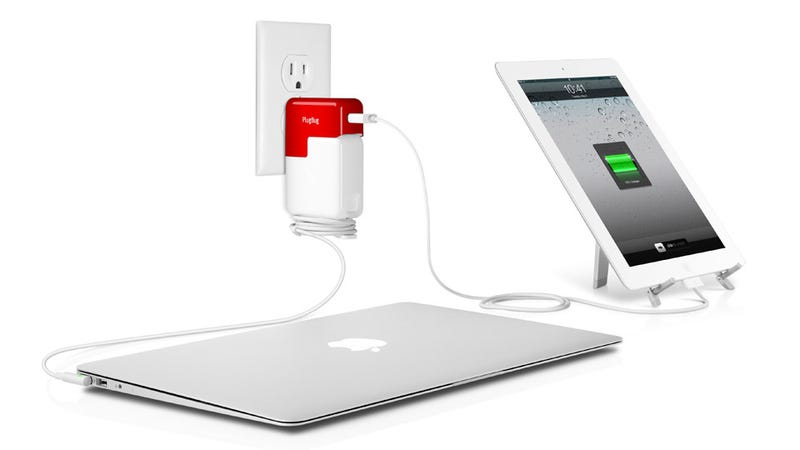 Illustration for article titled PlugBug Turns a MacBook Charger Into a MacBook/iPhone Charger