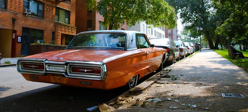 A '64 Thunderbird right at the top of Inwood back in summer 2012. Photo Credit: Raphael Orlove