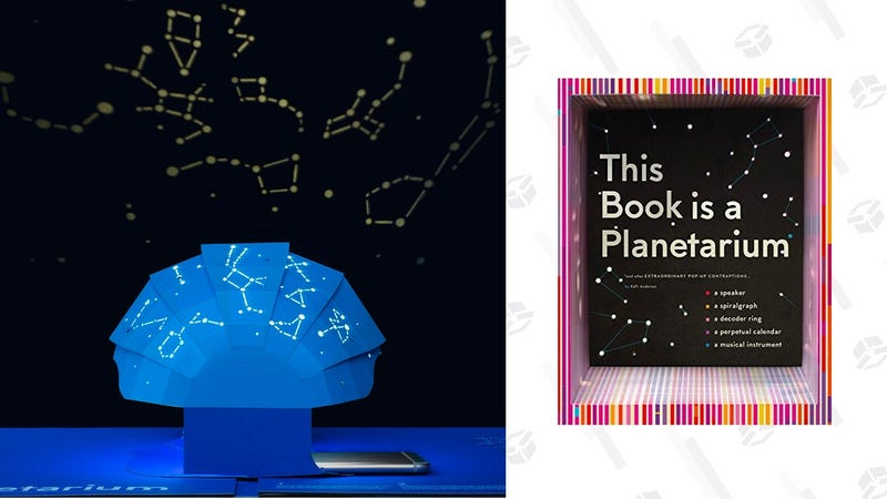 This Book Is a Planetarium: And Other Extraordinary Pop-Up Contraptions | $20 | Amazon | After $1 off coupon