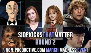 Illustration for article titled #SidekicksThatMatter #MarchMadess – Round Two!