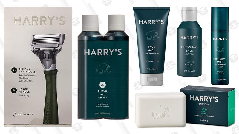 Illustration for article titled I Tried Basically All of Harry's Grooming Products. Here's What I Want to Keep.