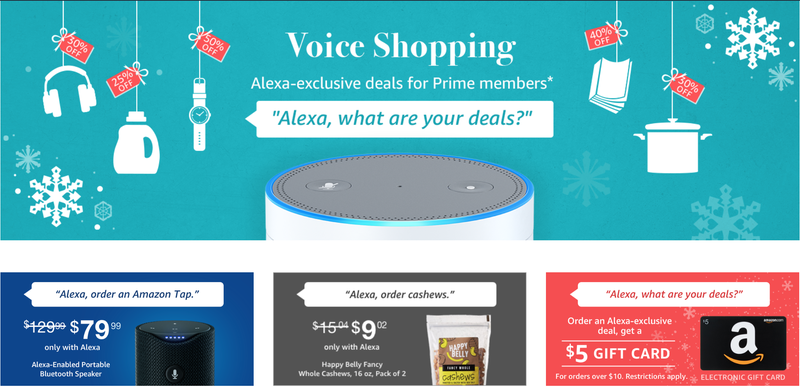 Alexa-Exclusive Discounts