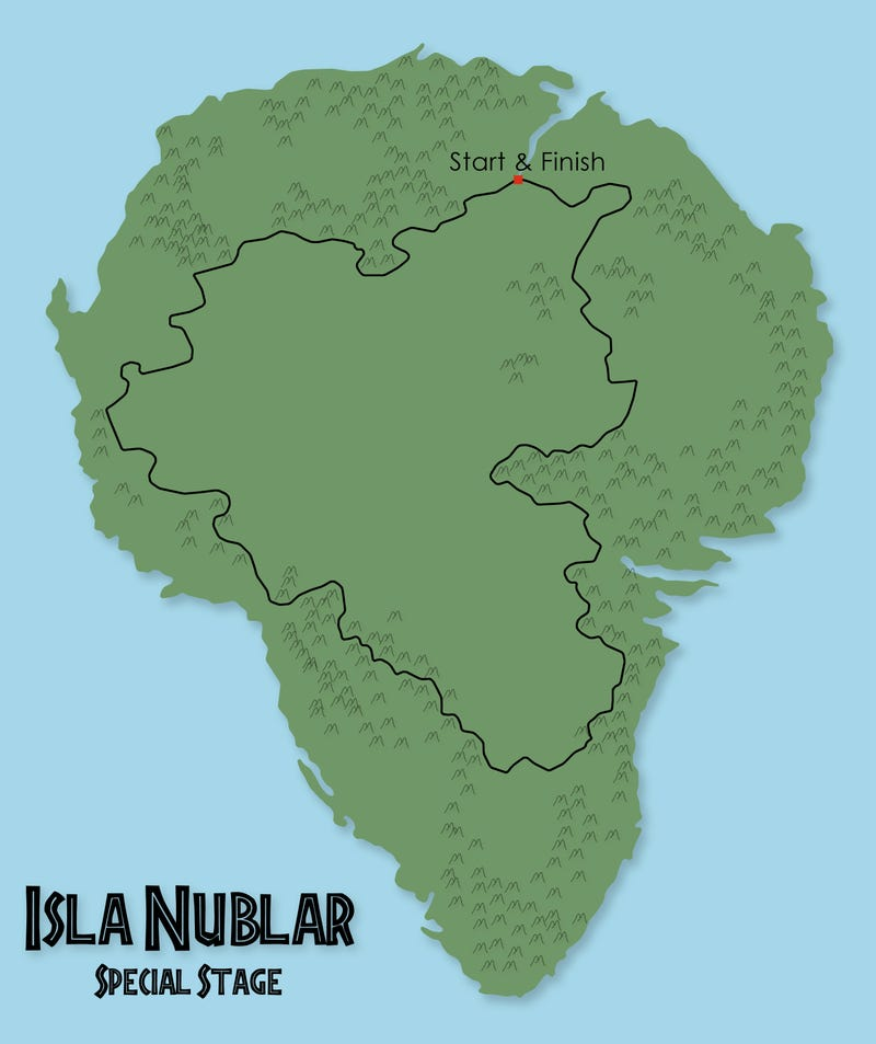 Illustration for article titled Isla Nublar Special Stage