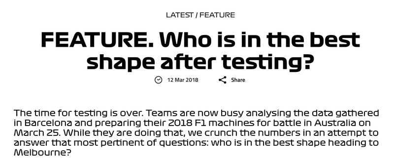 F1's New Font Is Killing My Eyeballs
