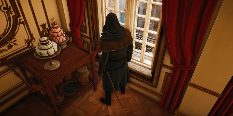 Illustration for article titled Mystery Of The Assassin's Creed Unity Cake Easter Egg Finally Solved