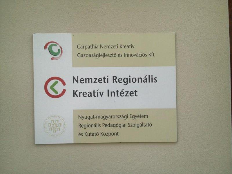 Illustration for article titled Nevettél már ma? Mégis ellopta a Kreatív logóját a Nemzeti Kreatív Intézet