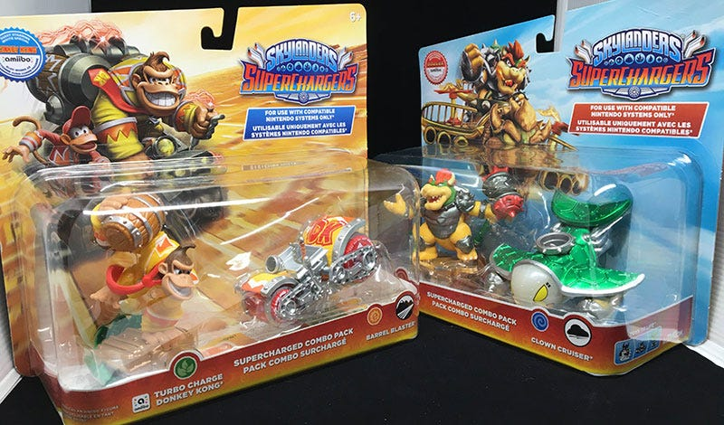 Illustration for article titled Skylanders Amiibo Figures Finally Available Without Buying A Skylanders Game
