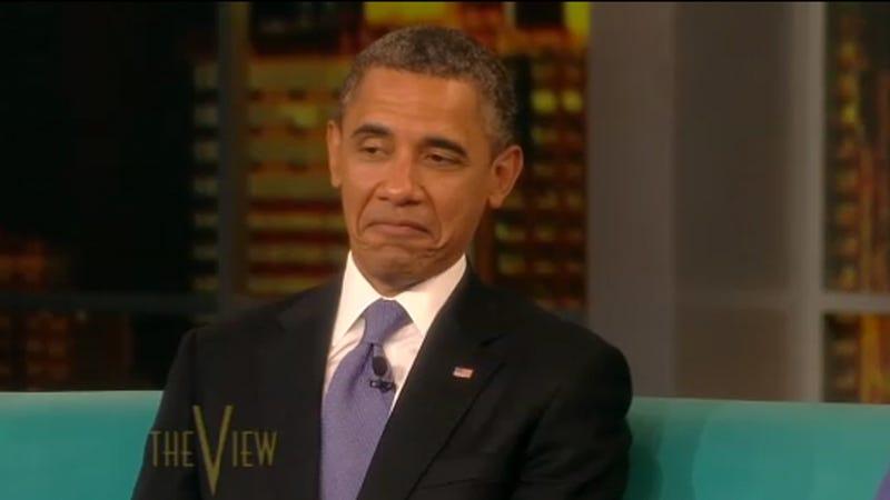 Illustration for article titled Barack Obama Is a Reluctant Fan of the Kardashians