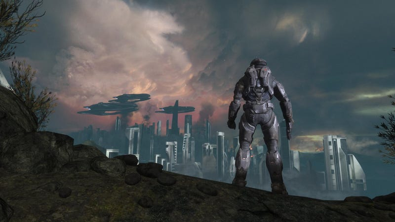Illustration for article titled Exodus: Halo Reach's Best Level