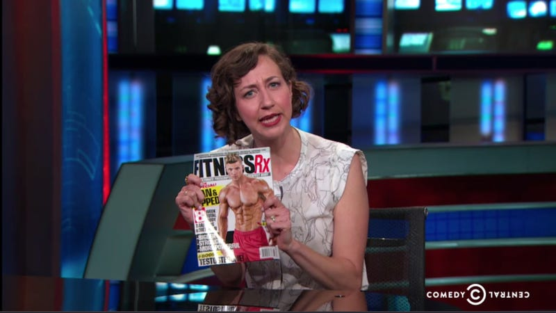 Illustration for article titled Kristen Schaal Explains Why 'Women Are Lining Up at the Dadbod Buffet'
