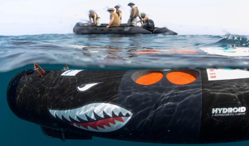 Illustration for article titled El escuadrón de drones submarinos que prepara la Armada estadounidense para 2020