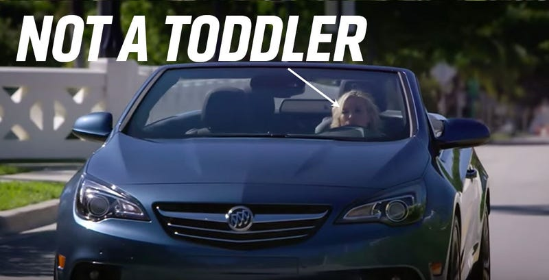 Illustration for article titled The Buick Cascada Is A Lesson In How Much New Cars Suck For Small People