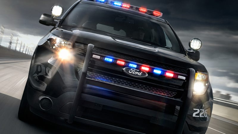Illustration for article titled Cops Are Picking Ford Interceptor SUVs Over Sedans Almost 2 To 1