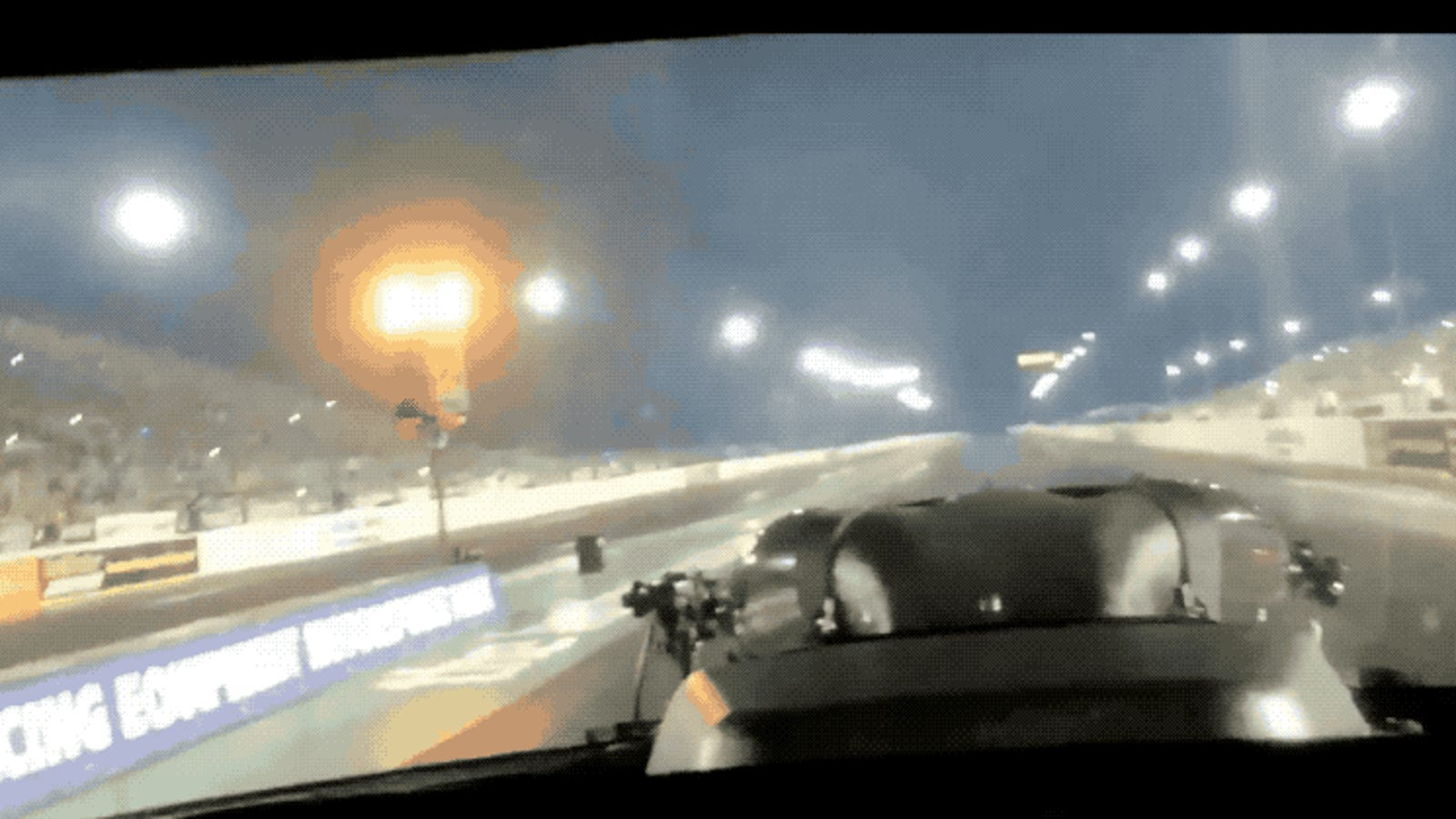 A Run In An NHRA Car Is So Fast It Looks Like Time Is Warping