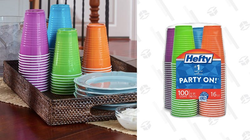 Stock Up On Your Memorial Day Party Supplies and Get 100 Hefty Cups for $7