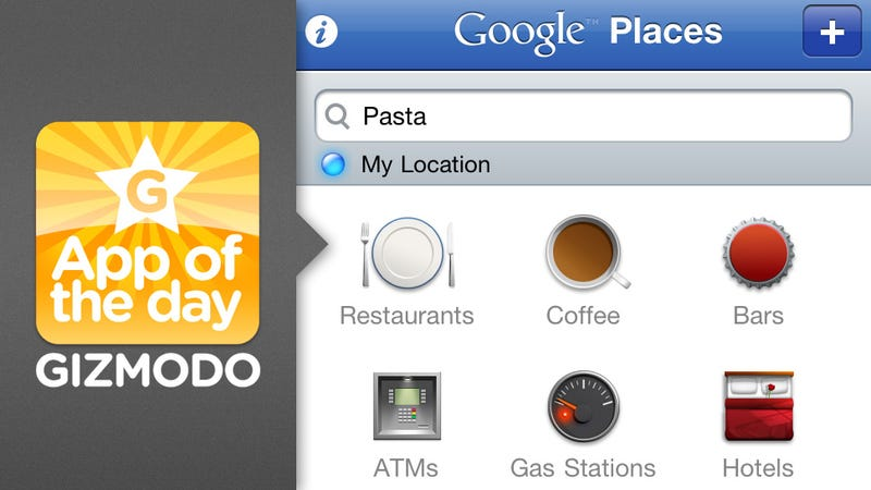 Illustration for article titled Google Places for iPhone
