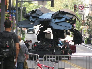 Illustration for article titled The Dark Knight Rises Pittsburgh set photos