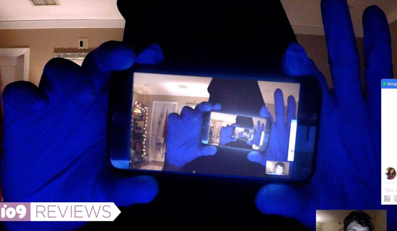 A video chat gets trippy in this still from Unfriended: Dark Web.