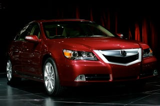 Illustration for article titled Chicago Auto Show: 2009 Acura RL Revealed, Gets Bigger Engine