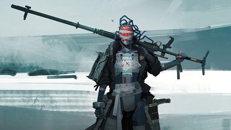 Illustration for article titled Robot Samurai