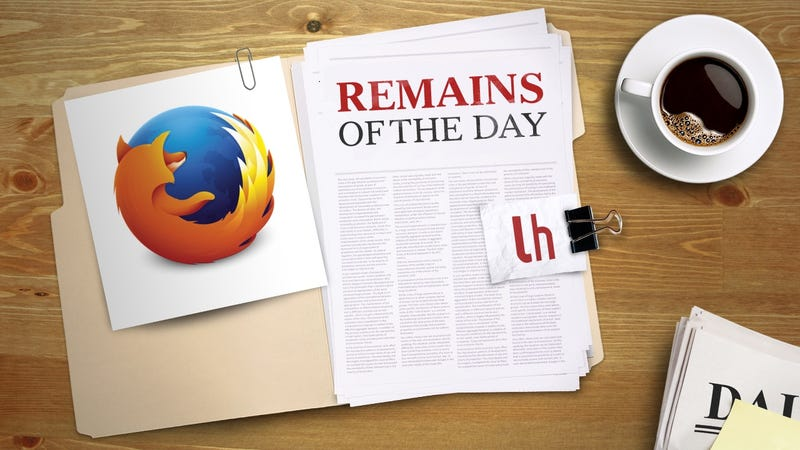 Illustration for article titled Remains of the Day: Firefox Gets Multi-Process Support