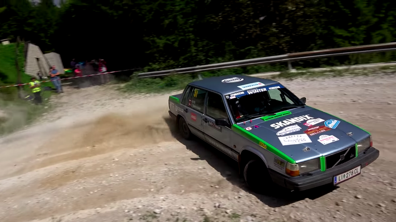 Illustration for article titled My Bank Account Would Prefer I Do Not Watch This Volvo 740 Rally Video