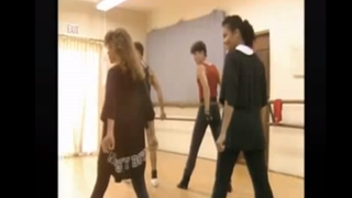 "Paula Abdul and Janet Jackson in rare rehearsal footage for ""When I Think of You""YouTube"