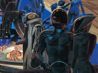 """Illustration for article titled Legendary Designer Syd Mead Says We Should Stop Saying """"Wearable Tech"""""""