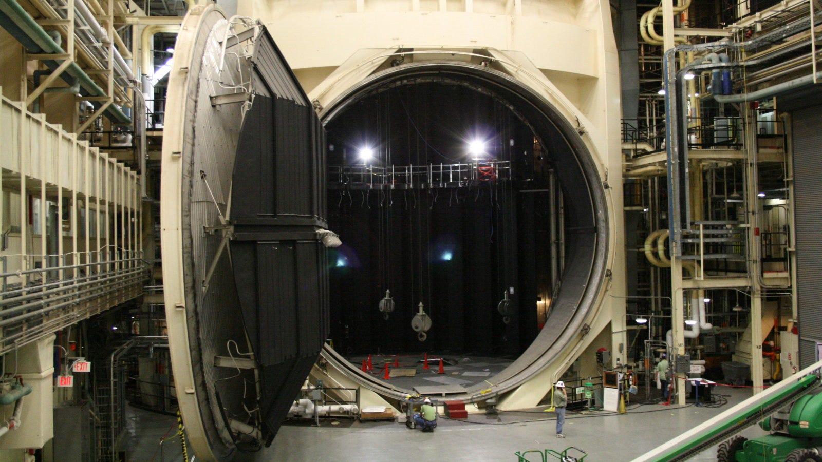 Cómo simula la NASA el espacio sin salir de la Tierra