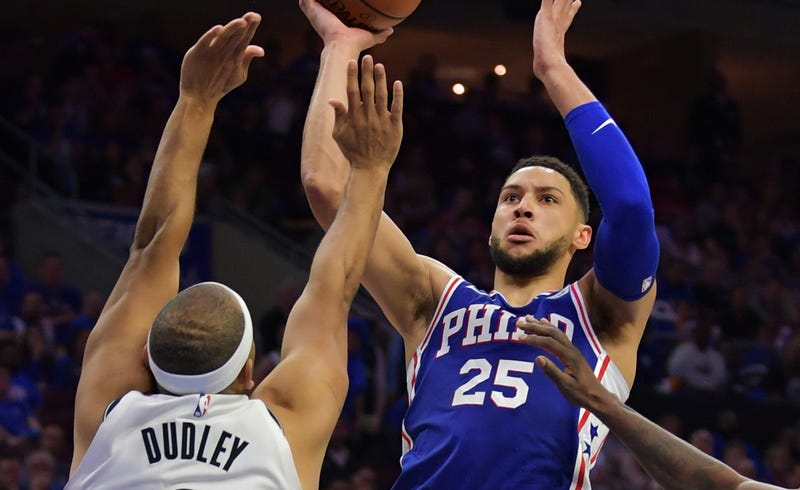Jared Dudley Versus Ben Simmons Should Turn Into Some Prime NBA Playoff Beef