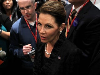 GOP presidential hopeful Michele Bachmann (Getty Images)