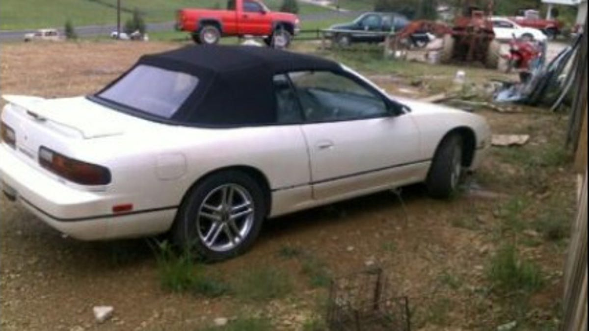 This Nissan 240sx Convertible Was A Legendary Rip Off From Hell But Is Now Part Of The Family