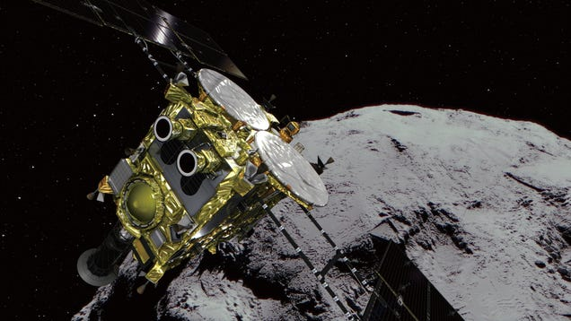 Hayabusa2 s Mission to Touch Down on the Asteroid Ryugu Has Been Delayed Until 2019