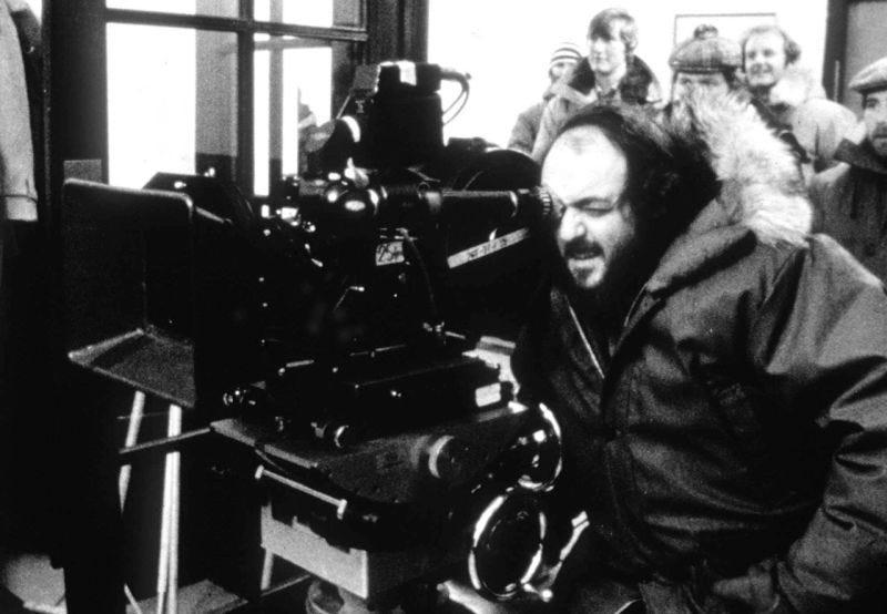 Kubrick durante el rodaje de su última película, Eyes Wide Shut.