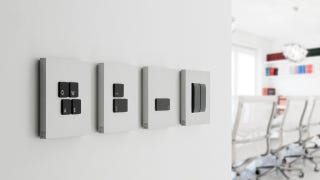 Illustration for article titled These Lovely Light Switches Look Like Your Laptop Keyboard