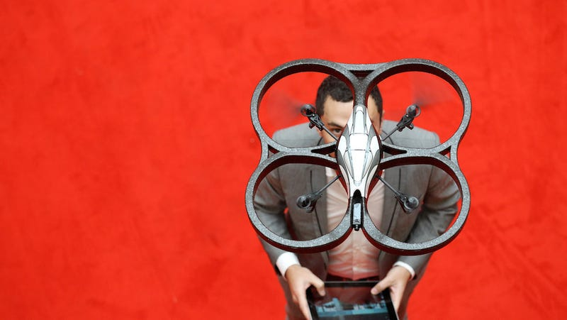 Illustration for article titled New Malware Can Bring Down Drones Mid-Flight