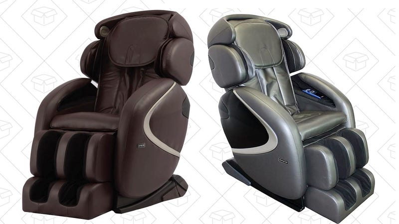 Up To 41% Off Select Massage Chairs | Home Depot Graphic: Erica Offutt