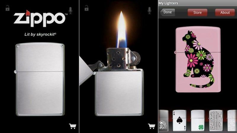 Zippo marlboro lighter