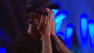 Justin Bieber Got So Overwhelmed By Being Jesus at the VMAs That He Cried